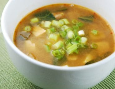 ginger miso soup