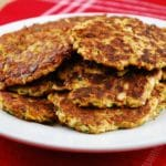 Zucchini and Leek Fritters – 2 Points