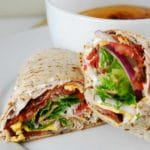 Bacon Ranch Turkey Wrap Recipe – 6 Points