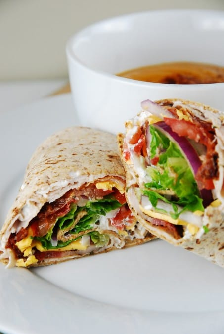 Bacon Ranch Turkey Wrap