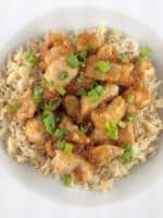 light orange chicken