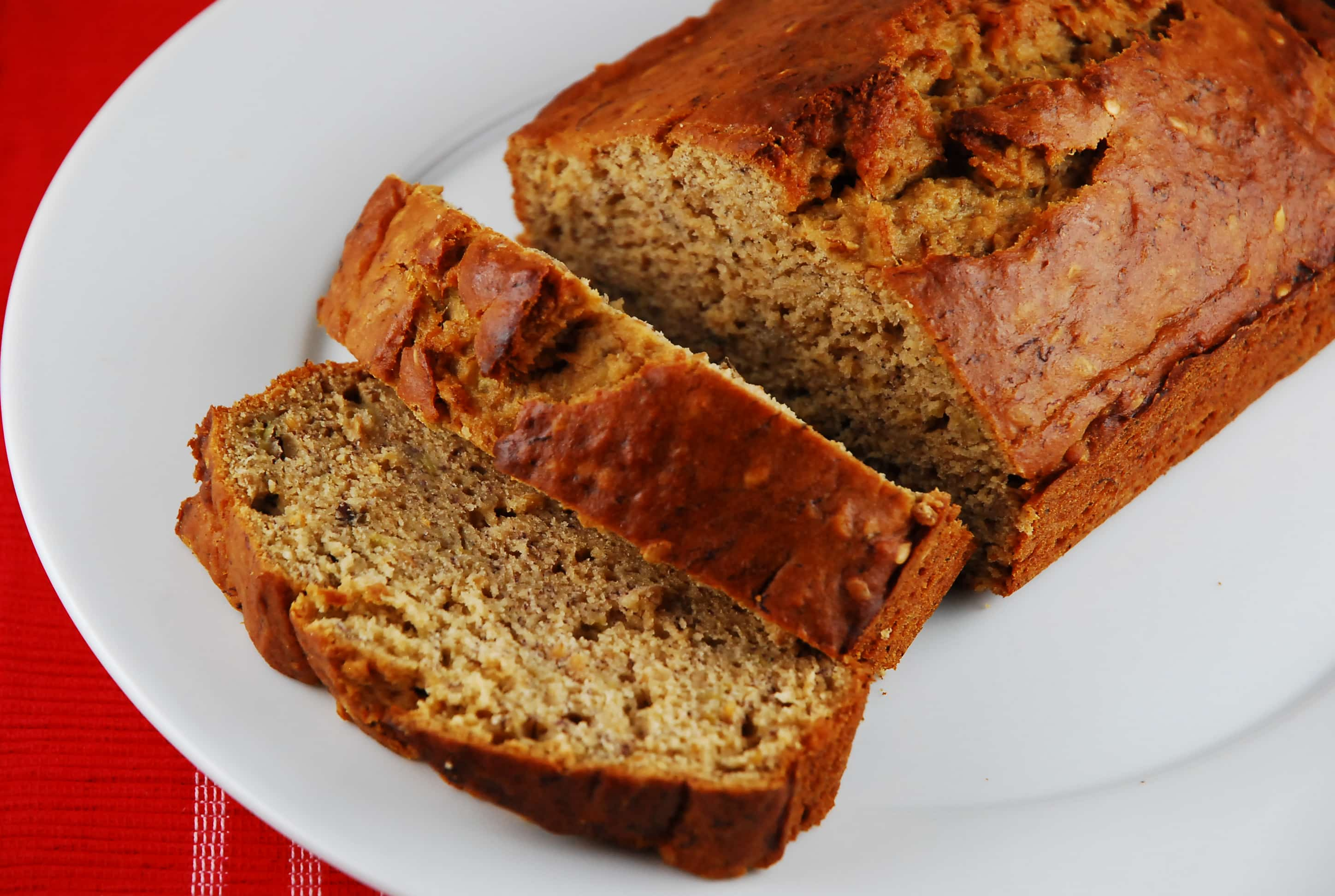 Low Fat Banana Bread Recipe - 4 Points + - LaaLoosh