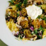 Mexican Chicken Spaghetti Squash Bowl – 5 Points
