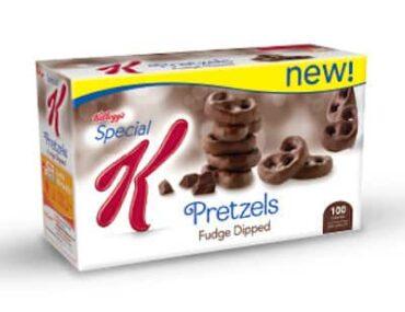 special k fudge dipped pretzels