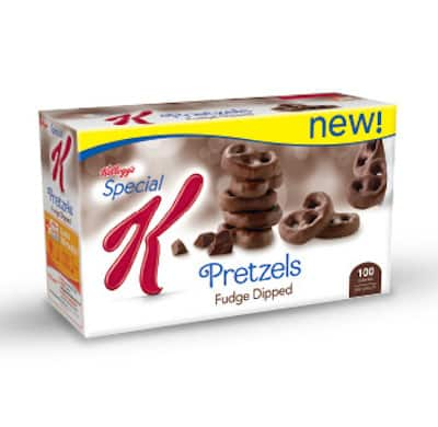 Special K Fudge Dipped Pretzels