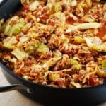 Stuffed Cabbage Saute – 4 Points