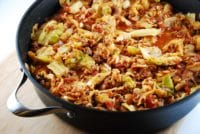 stuffed cabbage saue