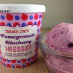 Trader Joe's Pomegranate Blueberry Sherbet – 4 Points