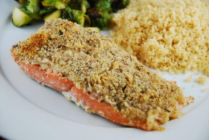 Almond Breaded Salmon