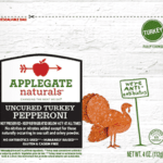Applegate Uncured Turkey Pepperoni – 1 Point