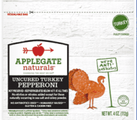 applegate mini uncured turkey pepperoni