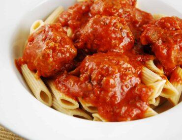 light italian meatballs