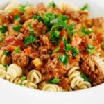 Light Beef Bolognese – 8 Points