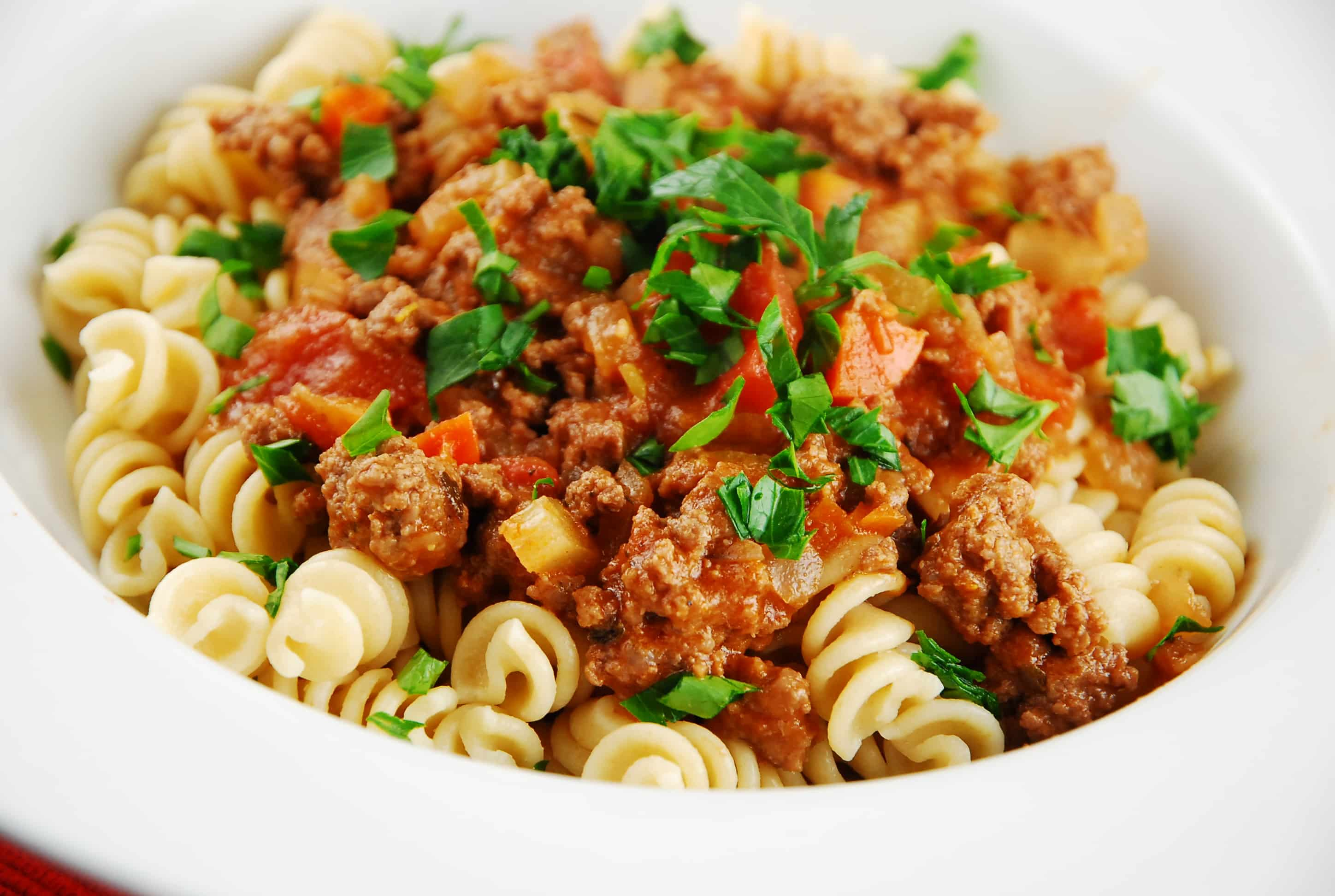 Italian beef mince pasta recipes