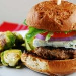 Blue Cheese Burger Recipe – 9 Points