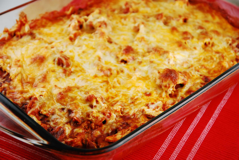 Easy mexican chicken rice casserole recipe