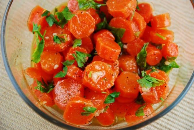 Cumin Lime Carrot Salad