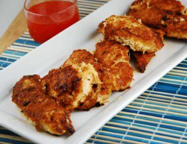 crispy cocunut chicken tenders
