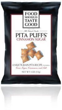 food should taste good pita puffs