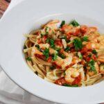 Garlic Shrimp Linguine Recipe – 6 Points