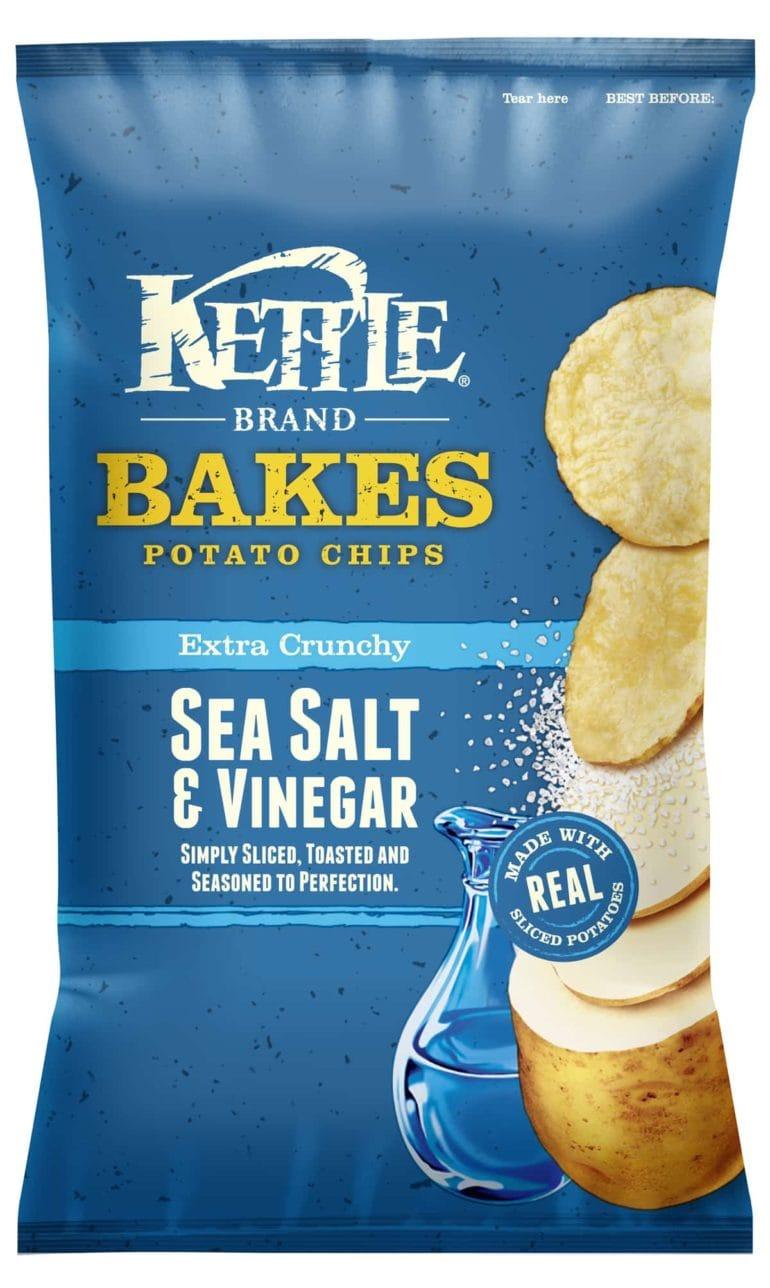 kettle brand bakes salt and vinegar chips