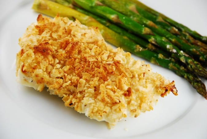 Salt and Vinegar Chip Crusted Fish Recipe