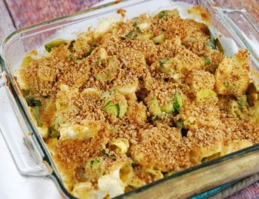leek and cauliflower gratin