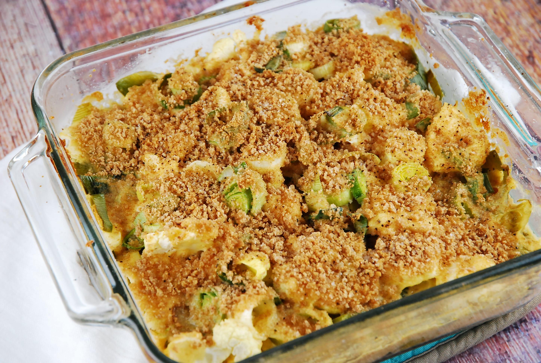 Ham And Cauliflower Casserole Au Gratin Recipes — Dishmaps