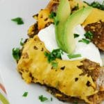 Slow Cooker Black Bean and Spinach Enchiladas – 5 Points