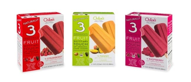 Chloe's Soft Serve Fruit Pops