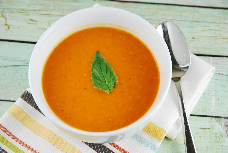 classic creamy tomato soup recipe 4 points laaloosh. Black Bedroom Furniture Sets. Home Design Ideas