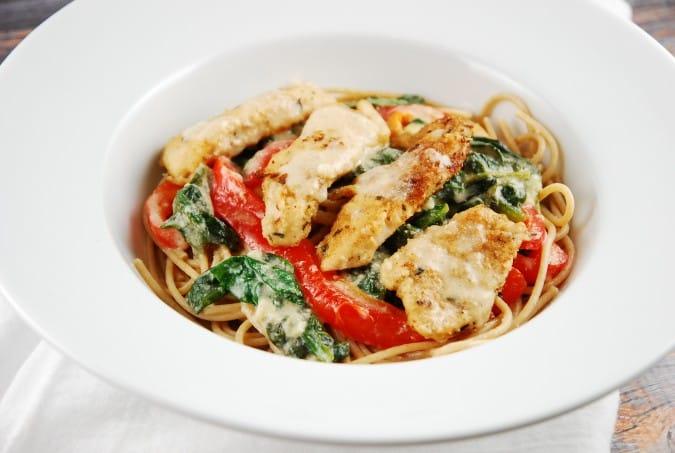 Olive Garden's Tuscan Chicken