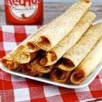 Baked Buffalo Chicken Taquitos Recipe – 6 Points
