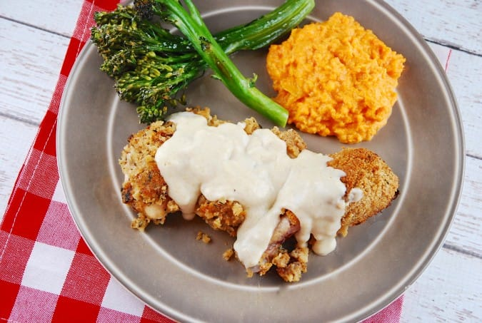 country fried chicken with gravy
