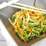 Zucchini Miso Ponzu Noodles Recipe – 3 Points