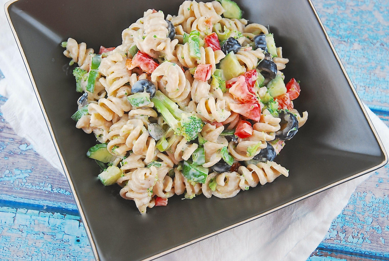 Creamy Summer Pasta Salad Recipe 6 Points
