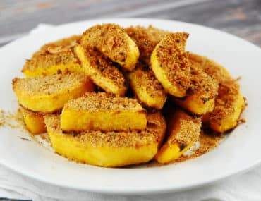 crusted butternut squash
