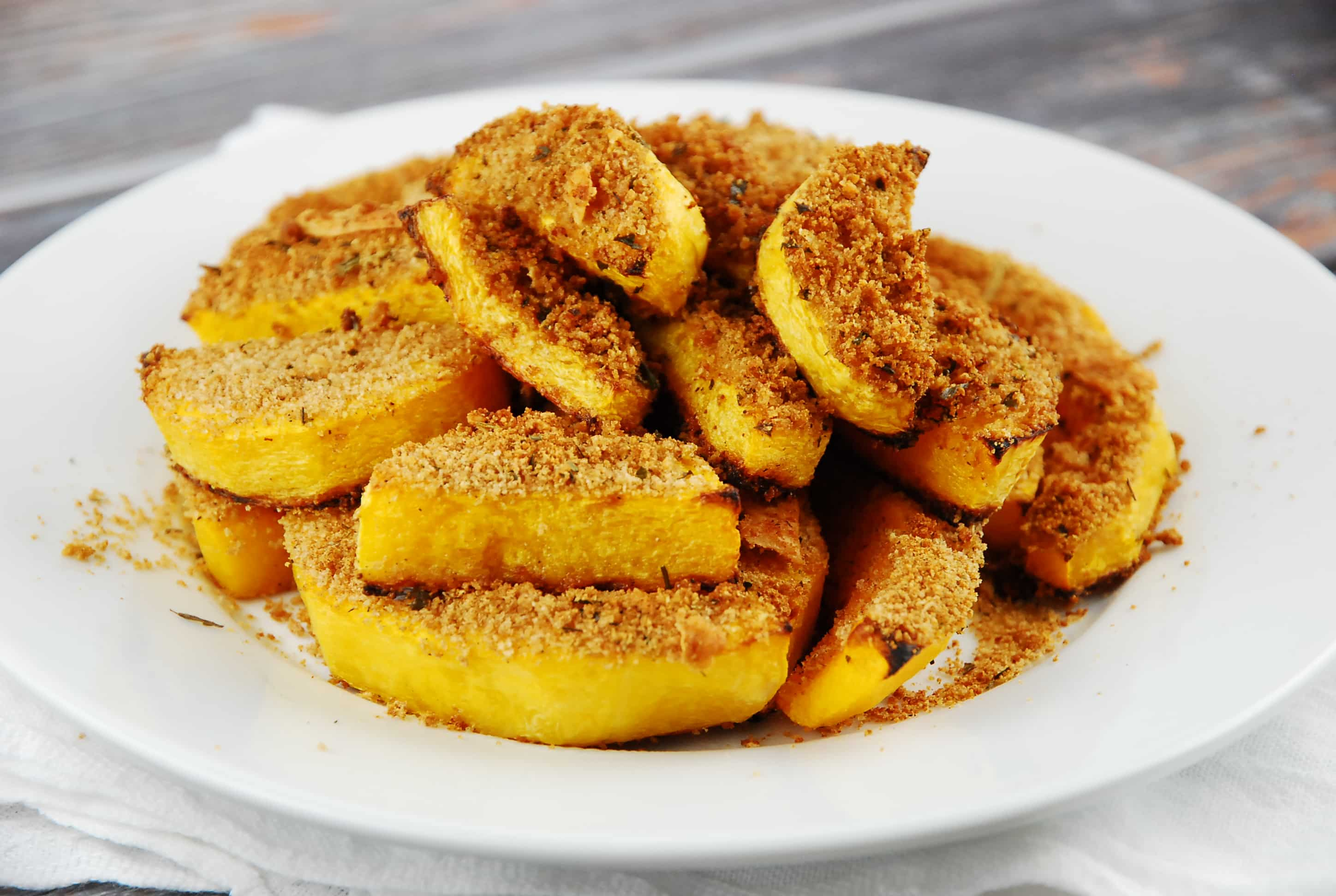 Crusted Butternut Squash Recipe - 3 Points + - LaaLoosh