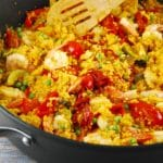 Shrimp and Quinoa Paella Recipe – 7 Points