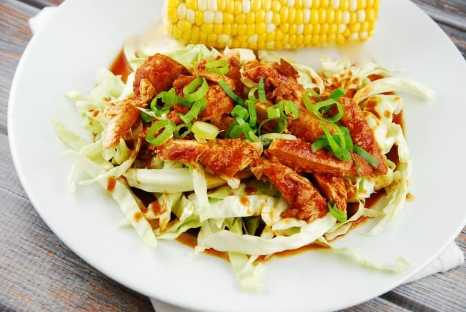 Sweet and Spicy Sriracha Crock Pot Chicken