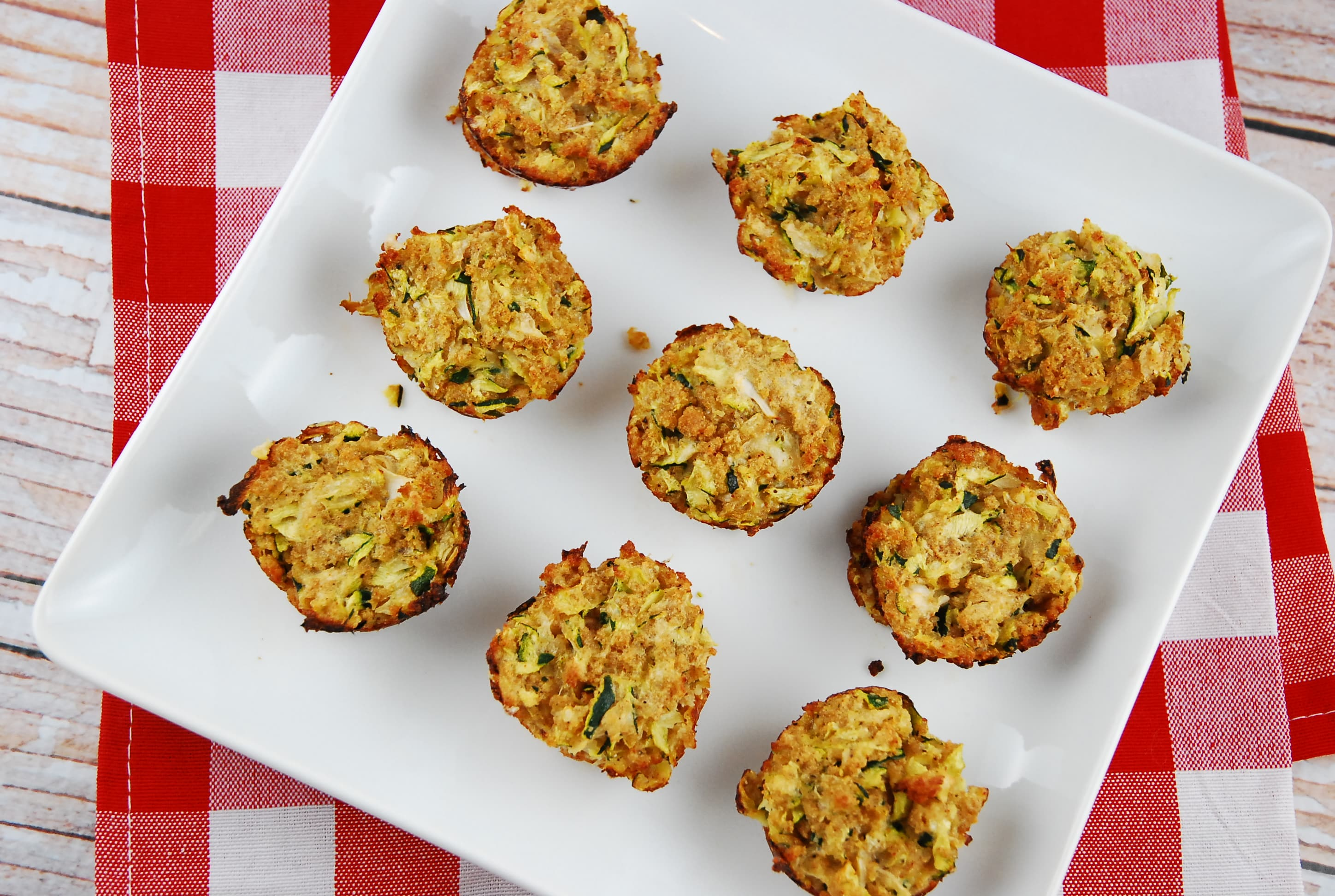 Zucchini Tots Recipe - 2 Points + - LaaLoosh