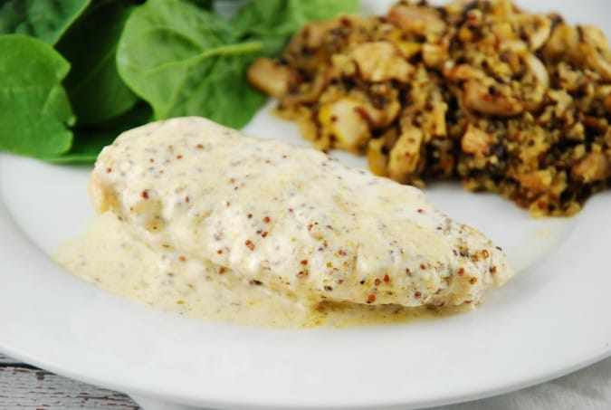 Creamy Dijon Chicken Recipe