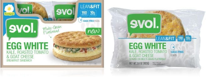 Evol. Lean & Fit Breakfast Sandwiches