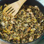Mushroom & Quinoa Sauté – 5 Points