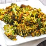 Roasted Parmesan Garlic Broccoli Recipe – 3 Points