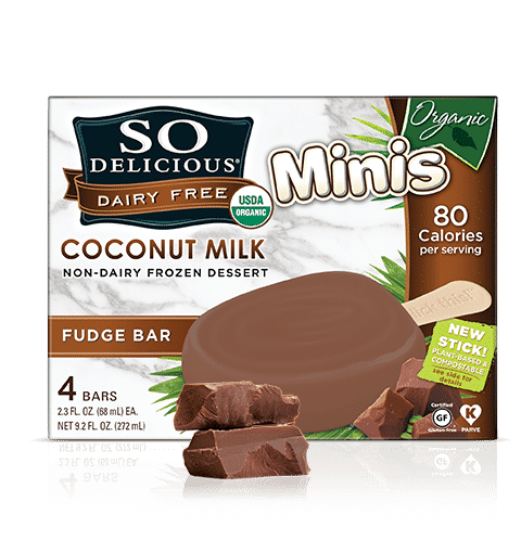 So Delicious Coconut Milk Dairy-Free Frozen Organic Minis