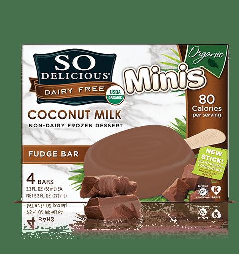 so delicious coconut milk organic minis