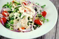 tahini chicken salad