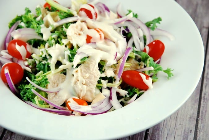 Tahini Chicken Salad