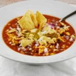 Crockpot Chicken Tortilla Soup Recipe – 6 Points
